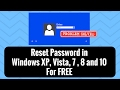 Free Windows Vista Password Reset Disk