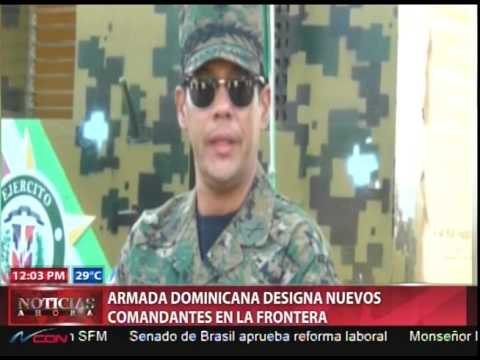 Cambios de militares en la frontera son rutinarios, según autoridades