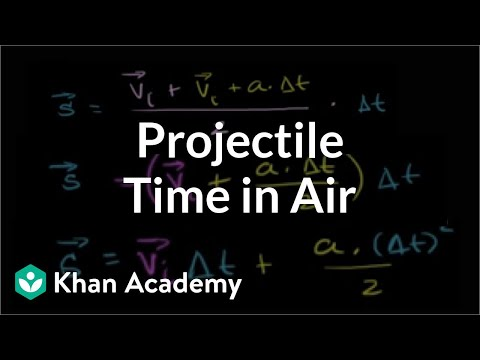 Different Way to Determine Time in Air