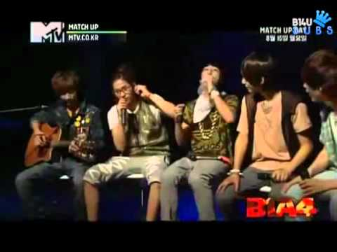 (B14U Subs) [110810] MTV Match Up Episode 8 (Last Episode) - B1A4 Cut.avi