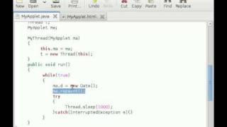 Java Applet Tutorial #11 Digital Clock Applet