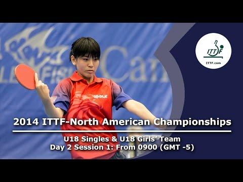 2014 ITTF-North American Championships (U18 Singles & U18 Girls' Team)