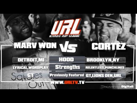 URL PRESENTS MARVWON vs CORTEZ  [FULL BATTLE]