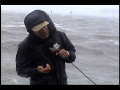 Hurricane Frances Blows Geraldo Rivera -2004
