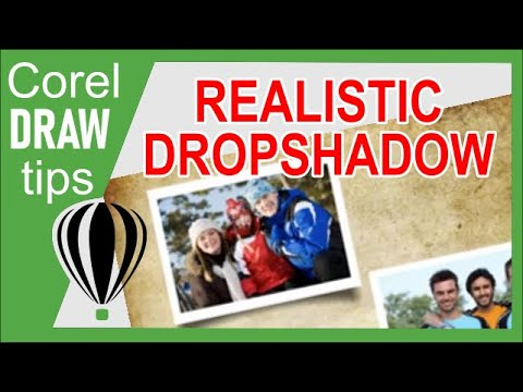 Creating an appealing dropshadow for photos