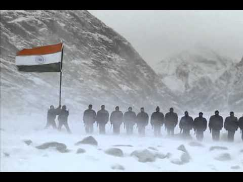 Indian Army men at the Siachen Glacier - touching video!