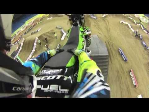 Toronto Monster Energy SX Pit Party FMX Show from my GoPro