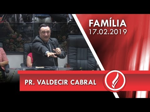 Pr. Valdecir Cabral | Abençoados por Deus | Gênesis 12.1-3 | 17 02 2019
