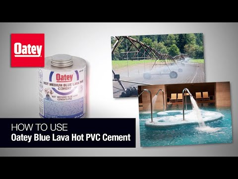 Blue Lava Hot PVC Cement