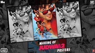 Making of Judwaa 2 Posters