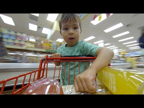 GoPro: Grocery Shopping with 2-Year-Old Henry