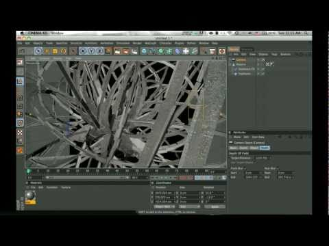 [Cinema 4D Tutorial] How to make a cool abstract shape