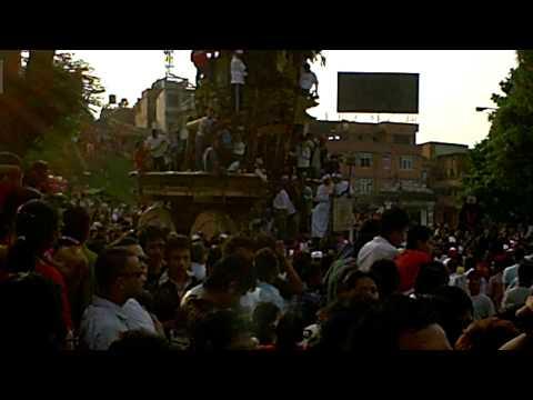 ネパールの雨乞い祭り★マッチェンドラナート祭