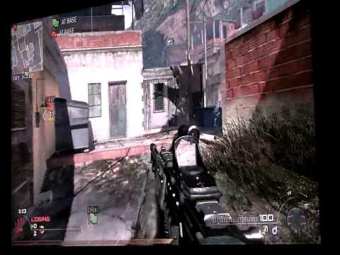 Call of Duty Modern Warfare 2 Favela Map 10 minutes gameplay