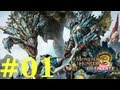 Monster Hunter 3 Ultimate - Online Quests -- Part 1: The Hunting of Monsters!