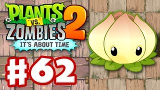 Plants vs Zombies 2 It39s About Time - Gameplay Walkthrough Part 62 - Power Lily iOS