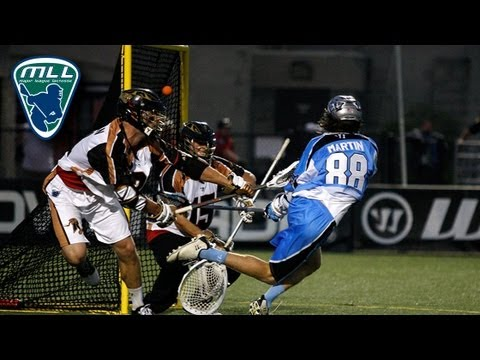 MLL Week 7 Highlights: Rochester Rattlers at Ohio Machine