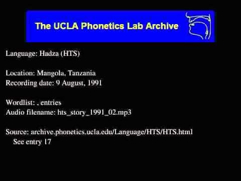 Hadza audio: hts_story_1991_02
