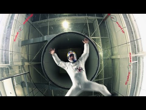 Wind Tunnel Acrobatics in Prague - Red Bull Soul Flyers 2012