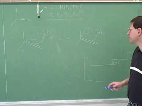 Alkenes: addition of HBr, BH3, X2 (5)