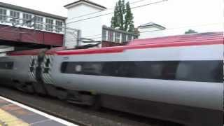 [a photo of the video] for Flying Virgin Rail @ Harrow & Wealdstone Station, England June 29, 2012