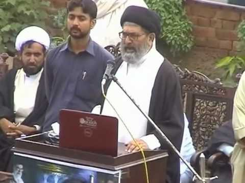 allama Sajid ali naqvi speech at divesional tanzeemi convention in sidhu pura fsd 0n 13 july 2012