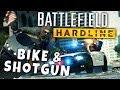 Battlefield 4 Hardline - Bike & Shotgun - Quick Gameplay