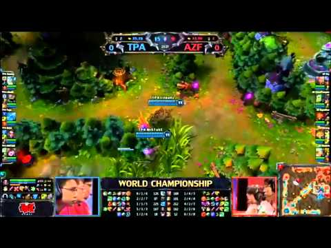 BO5 Game 1 - World Championship Finals - AZF vs TPA - Original Commentary - LoL League of Legends