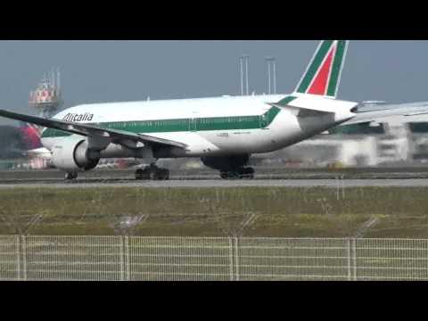 SPOTTING ATTERRAGGI ROME FIUMICINO decolli e atterraggi 26/02/2011 FCO LIRF l.da vinci intl.