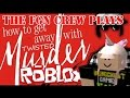 The FGN Crew Plays: Roblox - Twisted Murder #PIXIECHEATER