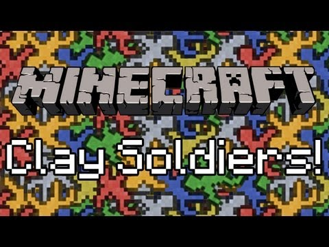 Minecraft: Clay Soldier Mod! (444 Mobs Fight)
