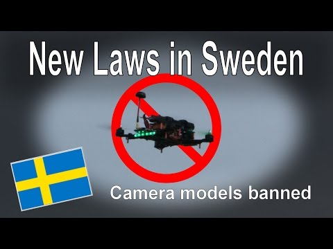 RC News: New Drone Laws in Sweden - UCp1vASX-fg959vRc1xowqpw