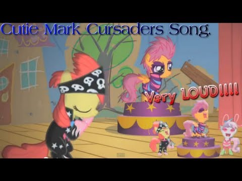 MLP:FIS: Cutie Mark Crusaders song­. (HD)