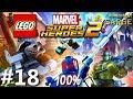 Zagrajmy w LEGO Marvel Super Heroes 2 (100%) odc. 18 - Starożytny Egipt