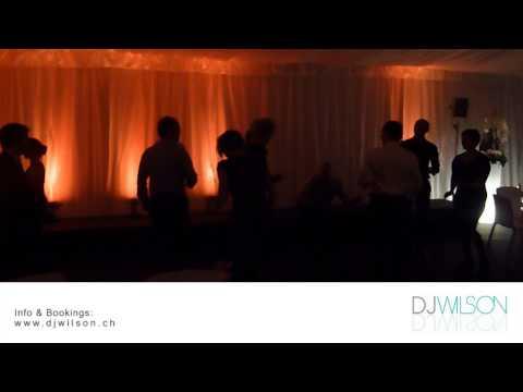 Beispiel: Der DJ für Ihre Hochzeitsparty,Video: DJ Wilson.