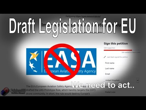 WARNING: EASA Draft for Restrictive Rules for RC Pilots - default