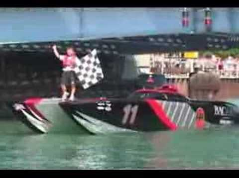 Spectacular Shots of Power Boat Racing - OSS