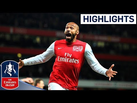 Thierry Henry goal & Official Highlights - Arsenal 1-0 Leeds Utd | FA Cup 3rd Round Proper 09-01-12