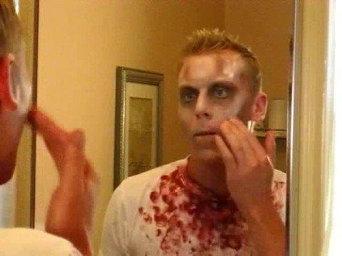 How to Apply Scary Halloween Makeup - Applying Halloween Makeup