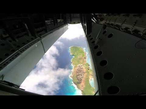 شاهد كيف تقصف طائرة B-52 بالفيديو الامريكية العملاقة