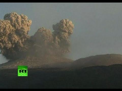 Japan volcano video: Powerful explosion creates huge plume, shatters windows