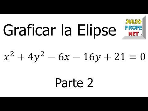 Graficar una Elipse (parte 2 de 2)