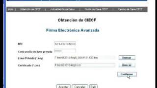 Actualizacion de CIEC con Firma Electronica