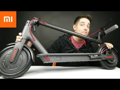 16mph Foldable Electric Scooter by Xiaomi - UCJY60satUwr-qljbkFFfVWA