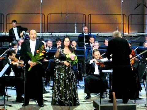 "G.Verdi ""Aida"" - ""Cielo! mio padre!"" - ""Rivedrai le foreste"" - Lyudmila Monastyrskaya - Carlo Guelfi"
