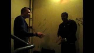 Jay Sean and Petebox - beatbox and singing the single Down