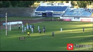 Super liga 2015/16: 3.Kolo: Spartak - Mladost 2:0 (1:0)
