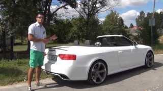 Ile baga�y zmie�ci Audi RS5 Cabrio? Niespodziewanie wiele!