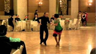 BIDA Teachers Competing in Latin Ballroom Dance