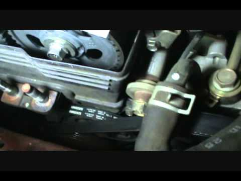1999-03 Mazda Protege timing belt replacement: Part 3